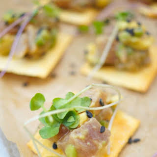 Tuna Tartare With Avocado Appetizer + Giveaway!.