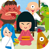 Yokai cartoon touch for kids