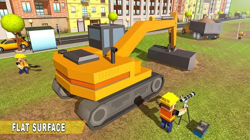 Mega City Canal Construction & Road Builder screenshots 1