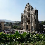 Ruins of St. Paul's Church in Macau in Macau, , Macau SAR