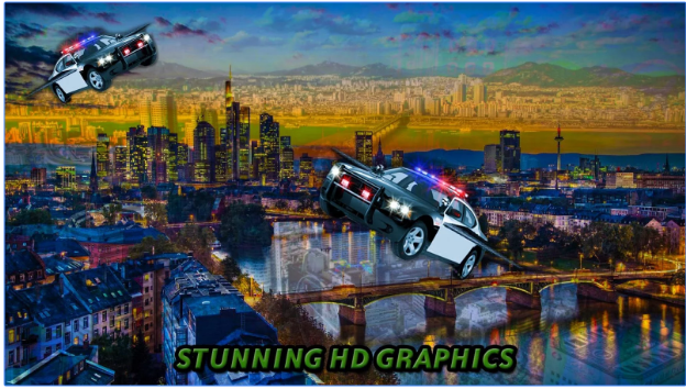 police car racing game
