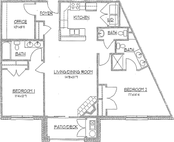 Go to The Iris Floorplan page.