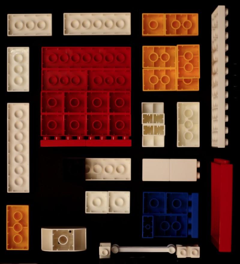 Piet Mondrian - Composizione rosso, giallo, blu e nero del 1914 di Fabio_76