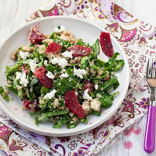Blood Orange, Spinach, and Quinoa Salad Recipe
