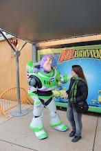 Photo: Buzz falando em francês!!!