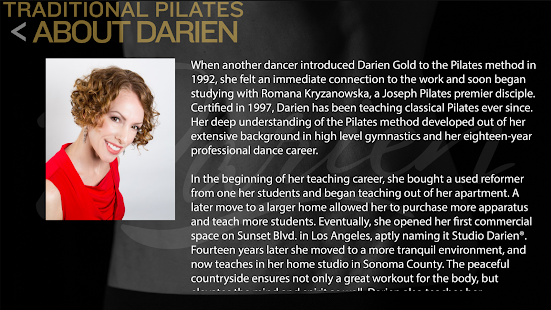 Studio Darien Pilates- screenshot thumbnail