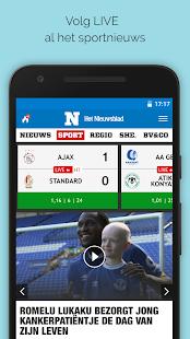 Nieuwsblad.be mobile - náhled