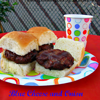 Certified Angus Beef Blue Cheese and Onion Sliders for Summer Grilling Recipe