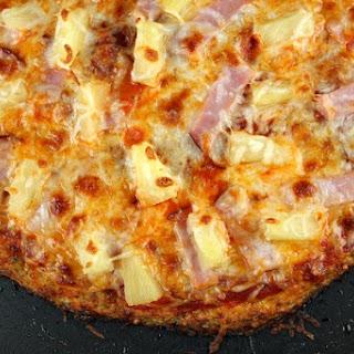 Cauliflower Crust Hawaiian Pizza Recipe