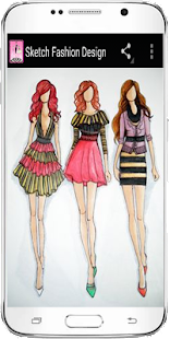 Skica Fashion Design - náhled