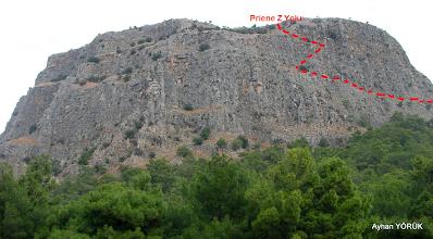 Photo: Priene Z Yolu Krokisi Priene Z Yolu - KURŞUNLU Manastırı - Radon Termal Faaliyeti - 26.10.2014