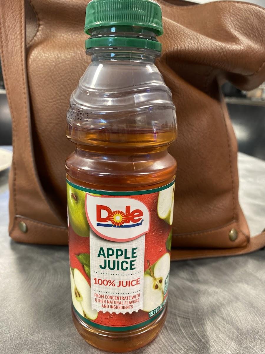 Apple Juice 100% Juice