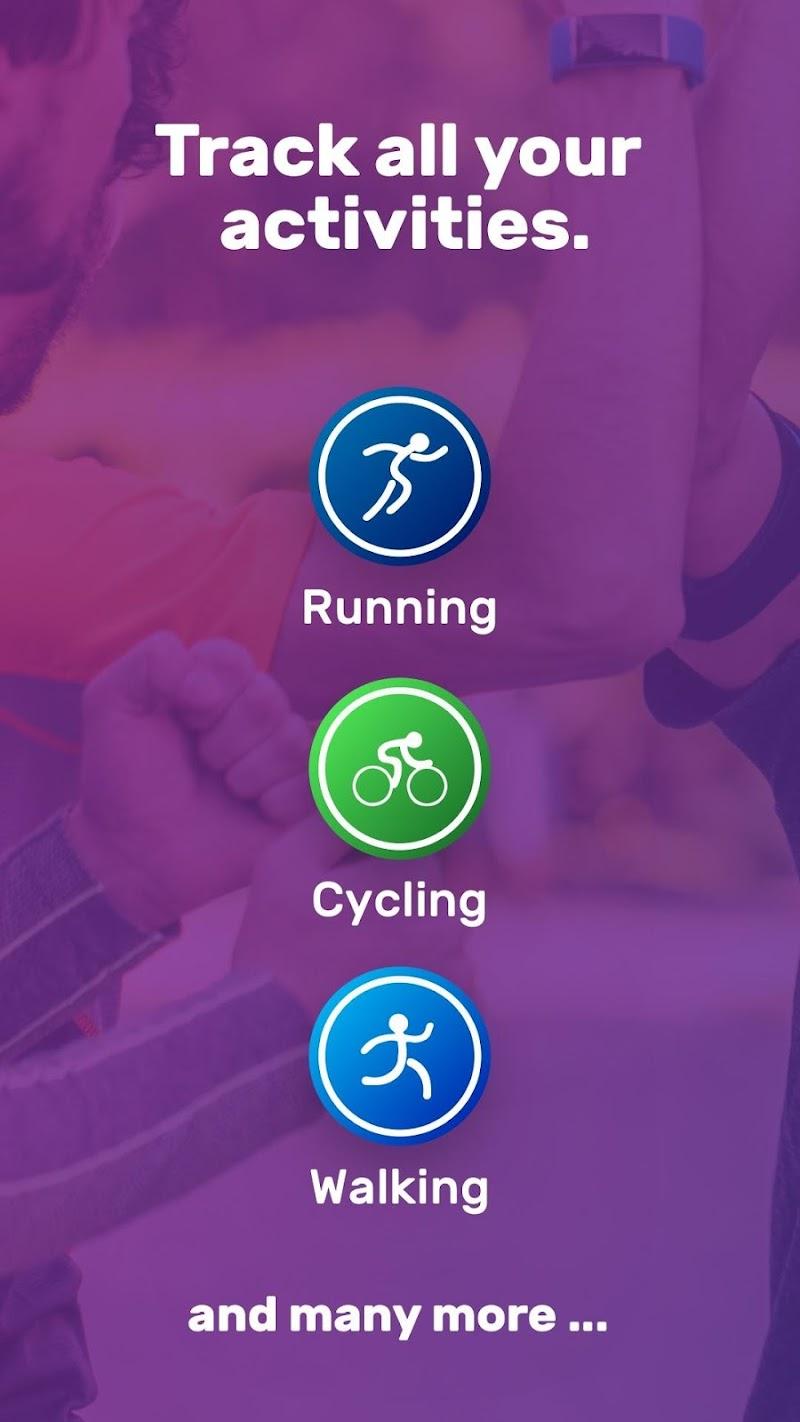 Running Weight Loss Walking Jogging Hiking FITAPP Screenshot 1