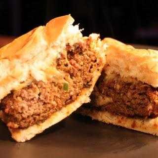 Beefy Serrano Taco Burgers