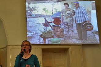Photo: Presentatie over Tent of Nations