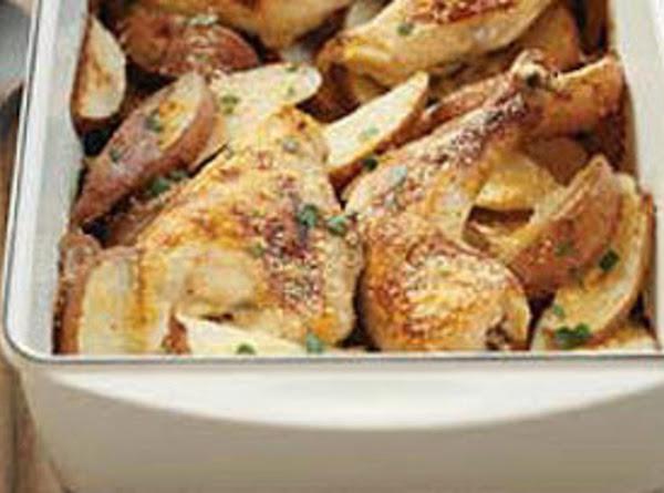 One-pan Chicken And Potato Bake Recipe