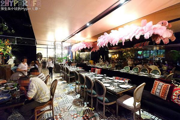 Woo台中米平方店│主打來自清邁的正宗泰式料理、裝潢華麗很適合網美,但整體風味不如預期且服務有改善空間