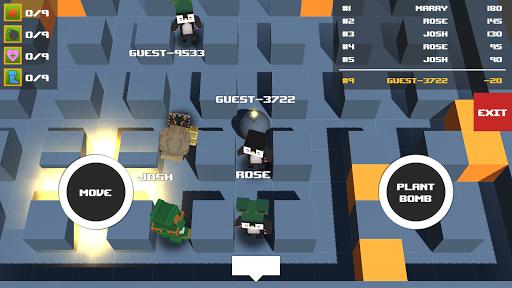 Télécharger Gratuit Bomber IO : Online Bomber Battle Royale Game APK MOD (Astuce) screenshots 1