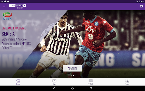 beIN SPORTS CONNECT- screenshot thumbnail