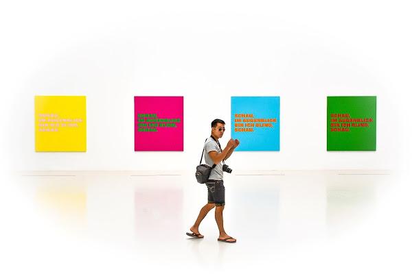Fotografo al museo di Paolo Scabbia