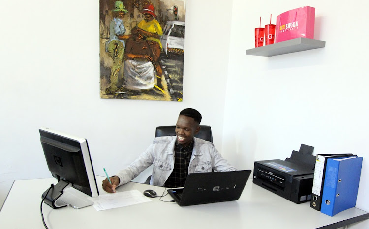 Lehlogonolo Malatje, founder-owner of Joburg-based Creative Mind Media Group, is going places.