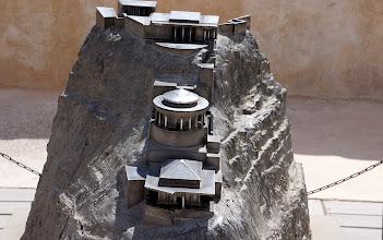 Photo: Herod's Palace at Masada