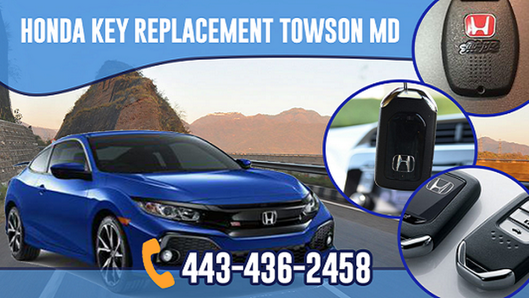 Honda Key Replacement Towson MD - Car Repair And Maintenance