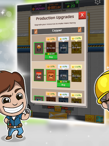 Idle Factory Tycoon 1.34.1 screenshots 9