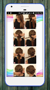 womens step by step hairstyles - náhled