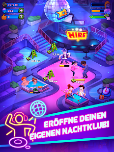 Party Clicker — Idle Nightclub Game Screenshot