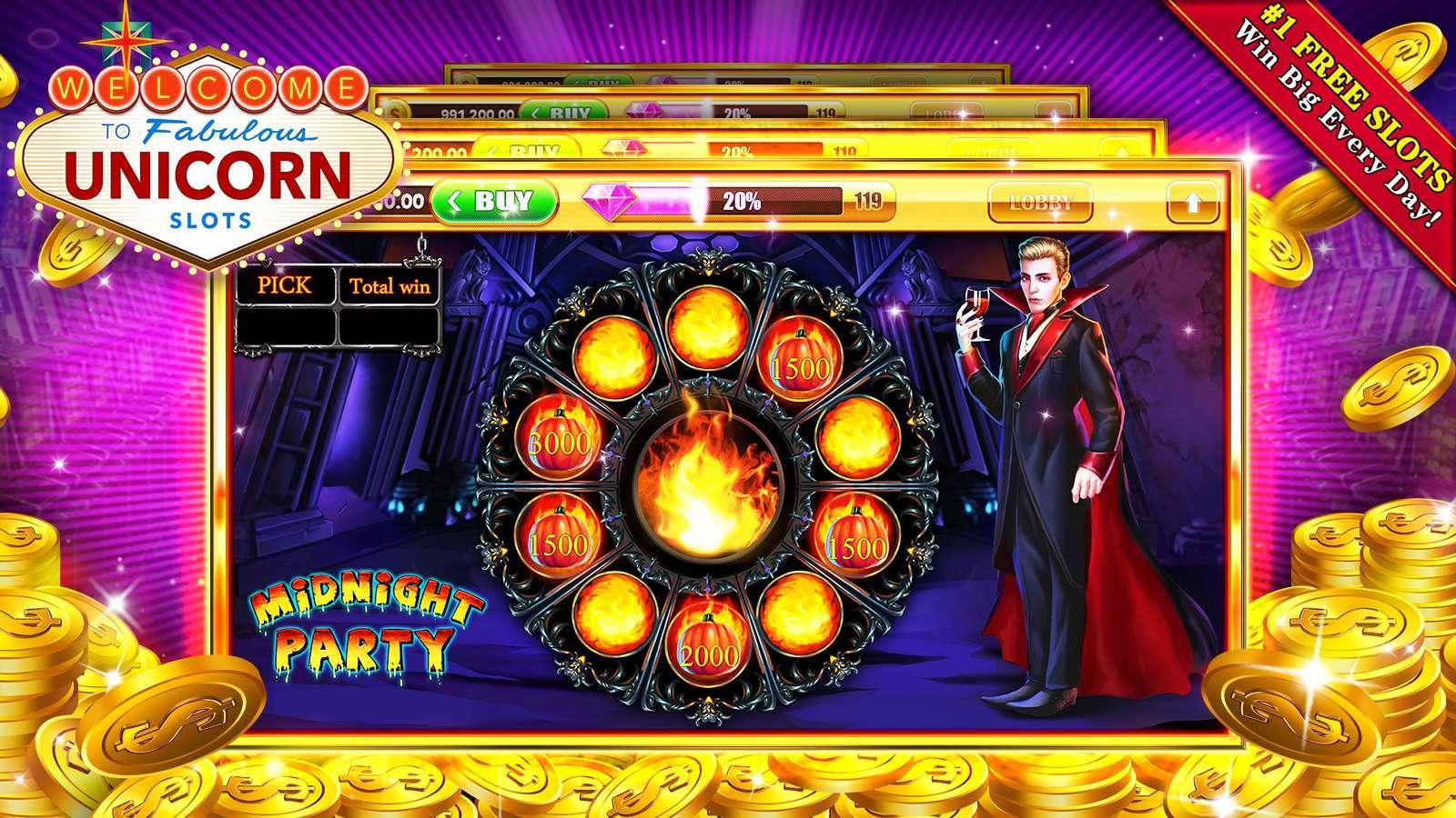 Unicorns Slot Machine - Play Mobilots Casino Games Online