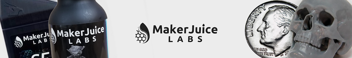 MakerJuice 3D Printer Resins