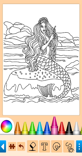 Coloring game for girls and women 13.9.6 screenshots 15