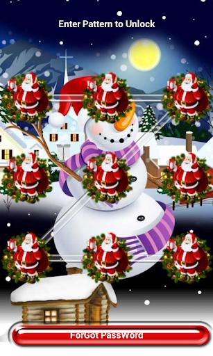 Merry Christmas Pattern Lock