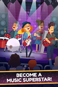 Epic Band Clicker – Rock Star Music Game 1.0.4 APK Mod Latest Version 2