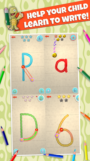 LetraKid: Writing ABC for Kids Tracing Letters&123 apkmartins screenshots 1