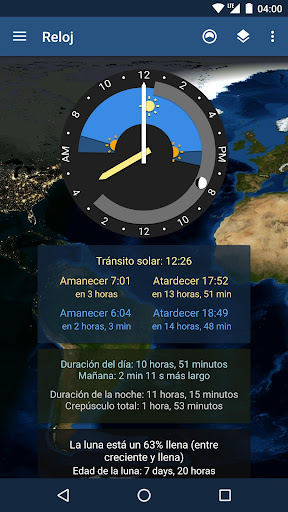 TerraTime para Android