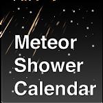 Meteor Shower Calendar Icon