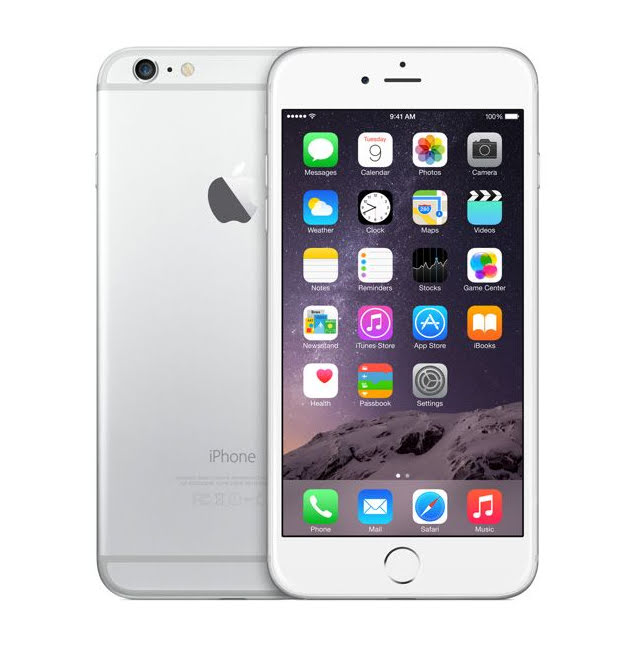 Apple iPhone 6 Plus 16GB, Silver (A+)