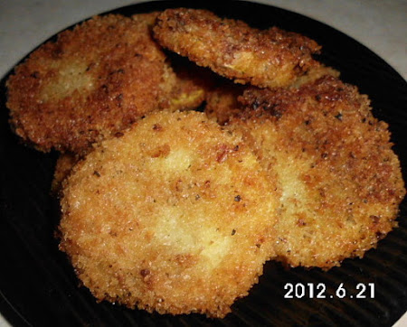Panko Breaded fried Squash Recipe