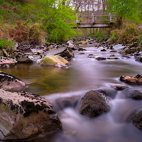 by Andrew Percival - Landscapes Waterscapes ( scotland, summer, long exposure, landscape, rocks, river )