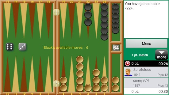 Backgammon - Real Players- screenshot thumbnail