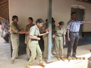 Photo: NCC Cadets on duty