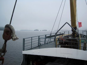 Photo: We leave Alberni Inlet (Vancouver Island's longest inlet) and head out into Barkley Sound