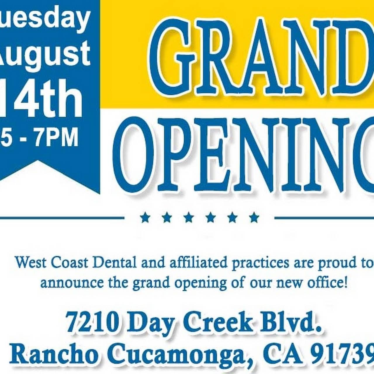 West Coast Dental of Rancho Cucamonga - Dentist in Rancho Cucamonga