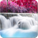 Waterfall live wallpaper real icon