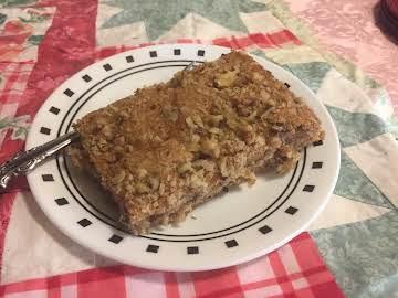 Grandmas One Bowl Crumb Cake