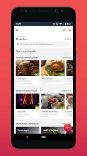 Zomato - Yemek ve Restoranlar Screenshot