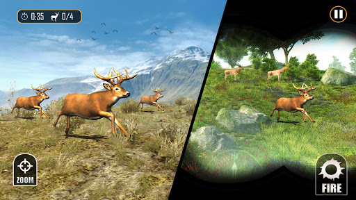 Deer Hunting - Sniper Shooting Games screenshots 1