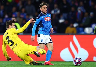 """Un défenseur du FC Barcelone encense Dries Mertens : """"Il est létal près du but"""""""